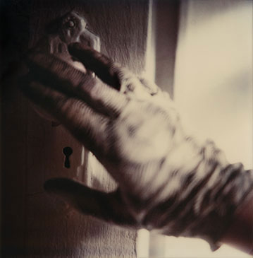 THE GLOVE, 1982  Photographer: Jenny Lynn ARCHIVAL INKJET FROM UNIQUE SX-70