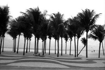 IPANEMA, BRAZIL, 1998  Photographer: Robin Rice GELATIN SILVER PRINT