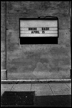 BIKINI BASH, 2009  Photographer: Ted Adams GELATIN SILVER PRINT