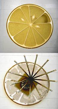 LEMON TABLE, 2007  GICLEE PRINT