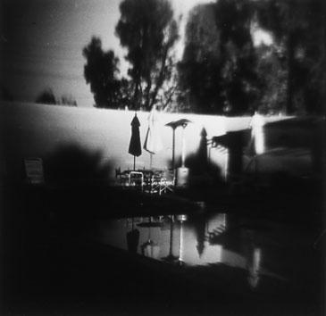 TWENTY-NINE PALMS, CALIFORNIA 1990   TONED SILVER GELATIN