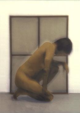 DEREK I, 1998   SILVER GELATIN WITH PHOTO OILS
