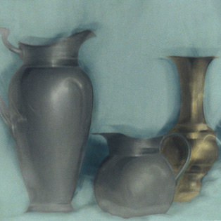 VASES, 1998   SILVER GELATIN WITH PHOTO OILS