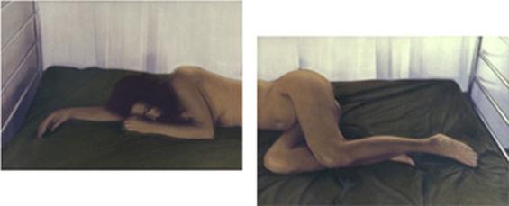 TEREZA I, 1998   SILVER GELATIN WITH PHOTO OILS