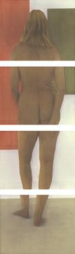 GIALLIAN, 1998   SILVER GELATIN WITH PHOTO OILS