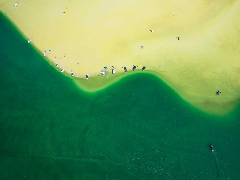 DINESH BOAZ  DESERT ISLE, 2018  DYE SUBLIMATION