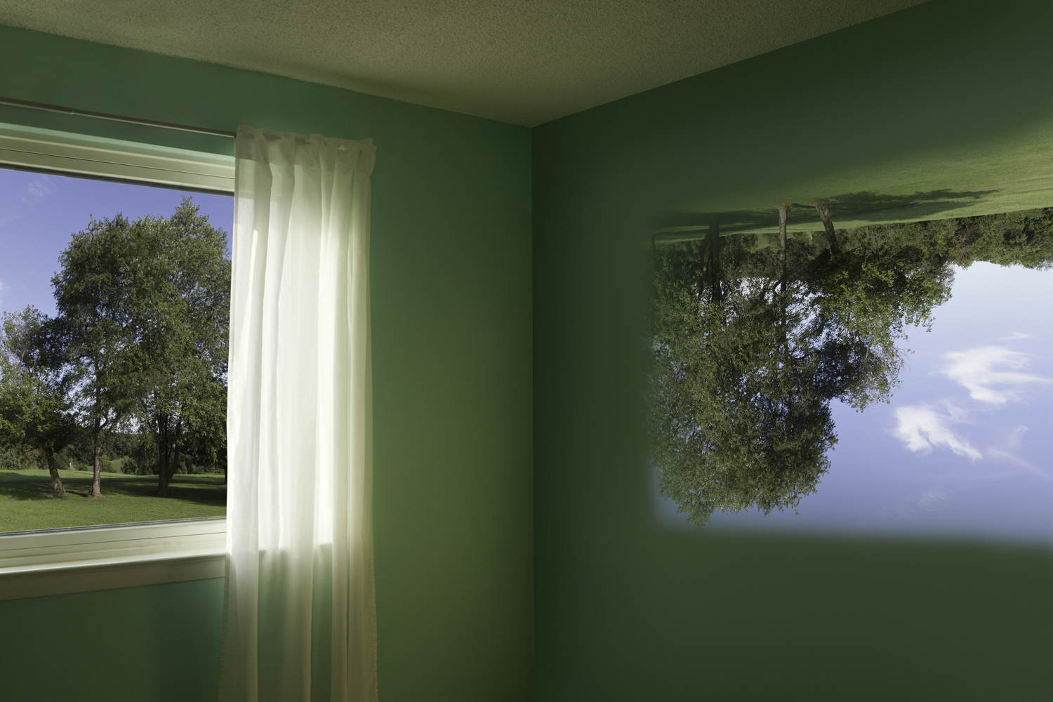 KEITH SHARP  ROOM AS CAMERA, 2018  ARCHIVAL PIGMENT PRINT