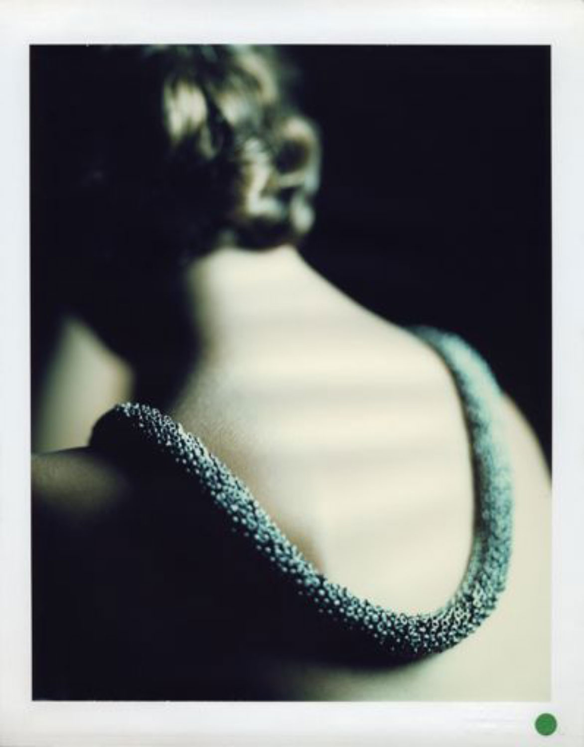 JOSÉ PICAYO  DOMINO MAGAZINE, NECKLACE, 1988  ARCHIVAL PIGMENT PRINT