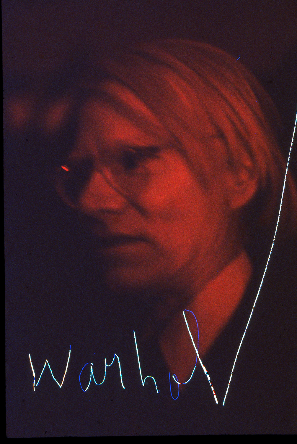 ROBIN RICE WARHOL, OPENING NIGHT STUDIO 54, 1977  DYE SUBLIMATION