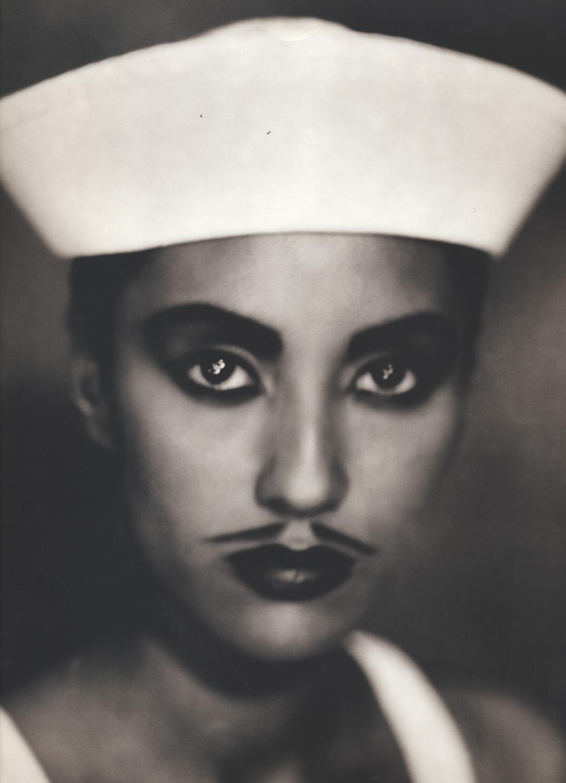 JOSÉ PICAYO  GERRI (SAILOR), 1992  TONED SILVER GELATIN
