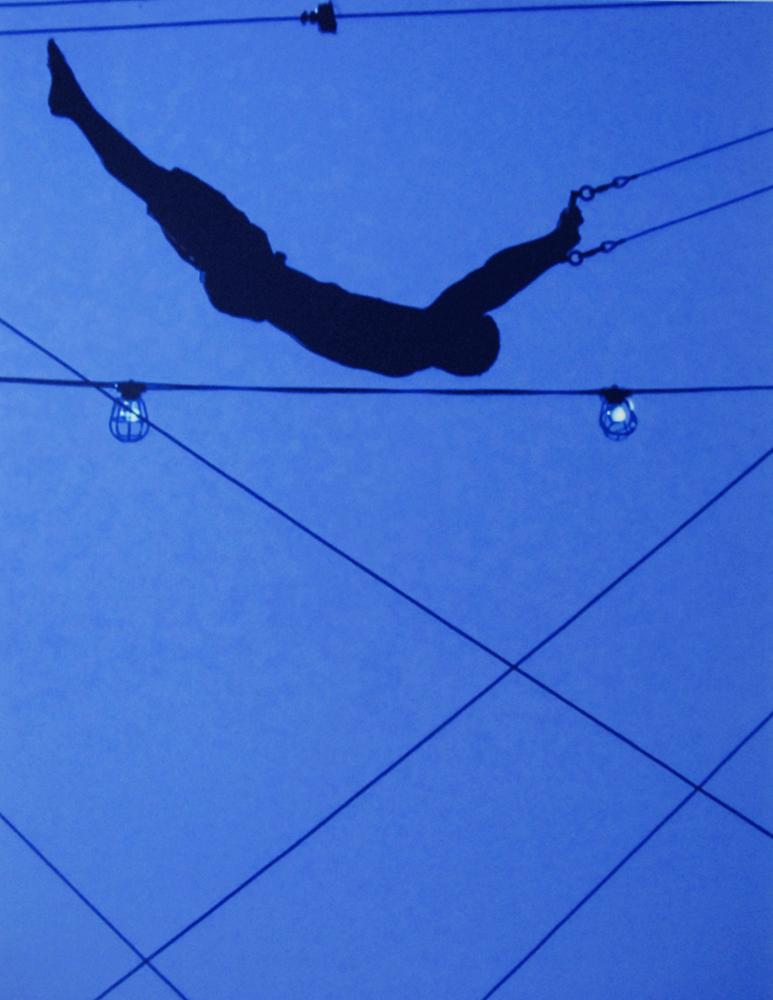 KEVIN RYAN  HIGH BLUE FLYER , NEW YORK CITY, 2007 ARCHIVAL PIGMENT PRINT
