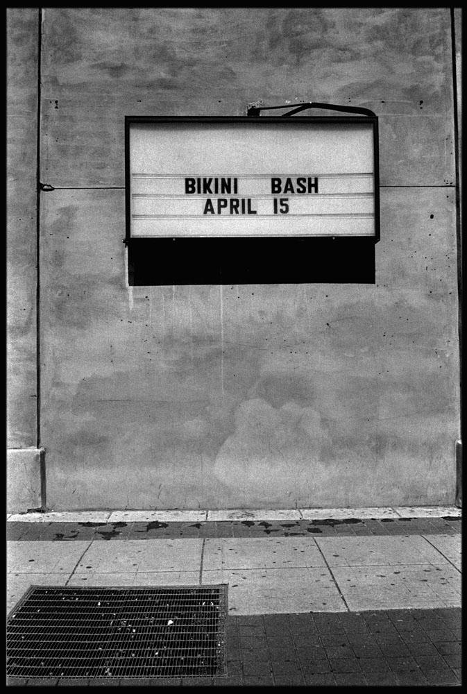 TED ADAMS BIKINI BASH,  PHILADELPHIA AREA, 2005 GELATIN SILVER PRINT