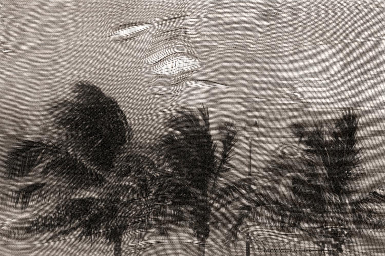 ROBIN RICE ANGUILLA,  EASTERN CARIBBEAN, 1989 SEPIA TONED / SILVER GELATIN