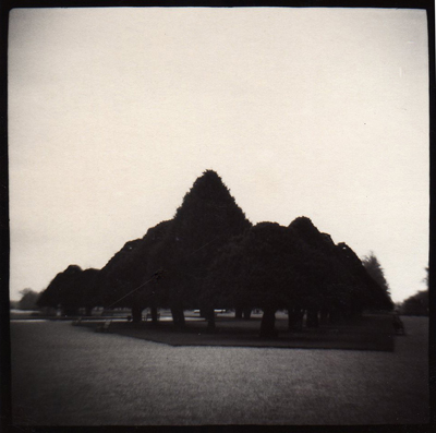 MICHEAL MCLAUGHLIN HAMPTON COURT PALACE,  ENGLAND, 1994 GELATIN SILVER PRINT