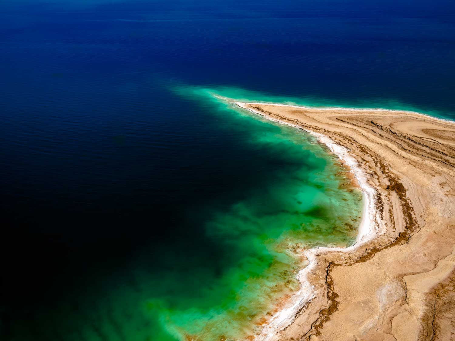 DEPTH CHARGE DEAD SEA, ISRAEL, 2019  DYE SUBLIMATION