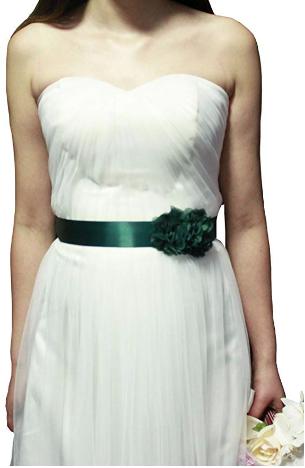 5. Bridal Dress Sash