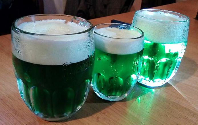 9. Green Beer