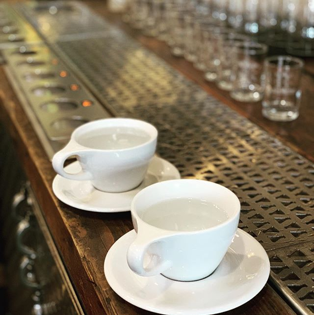 Why have one when you can have both! Coffee and beer served all day @labrewatory which is home to @dawnpatrolcoffeepdx