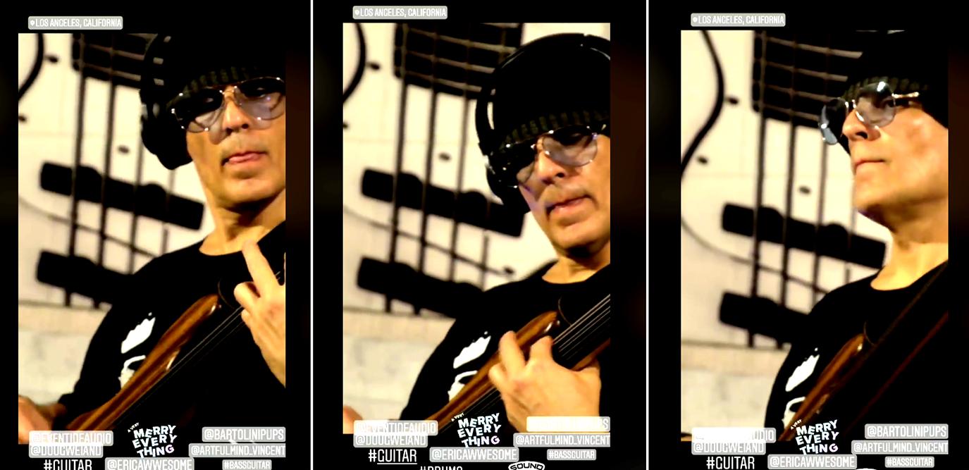 Vincent Medina - Fretless + Fretted Bassist: Bass Solo SME. Music Producer.