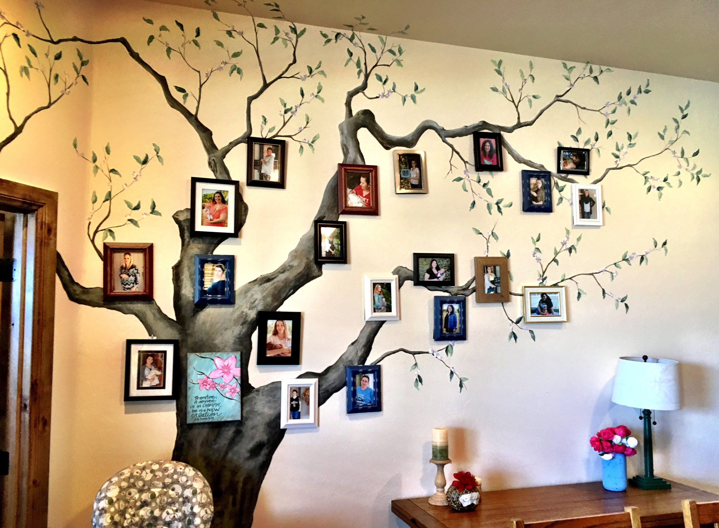 Our Tree of Life that tells the story of lives that have been changed.