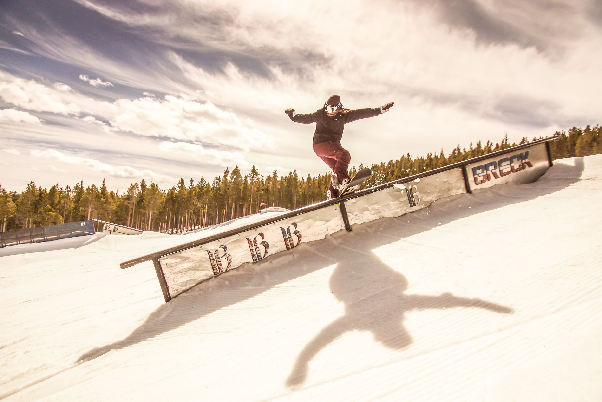 Female Pro Snowboard Photo