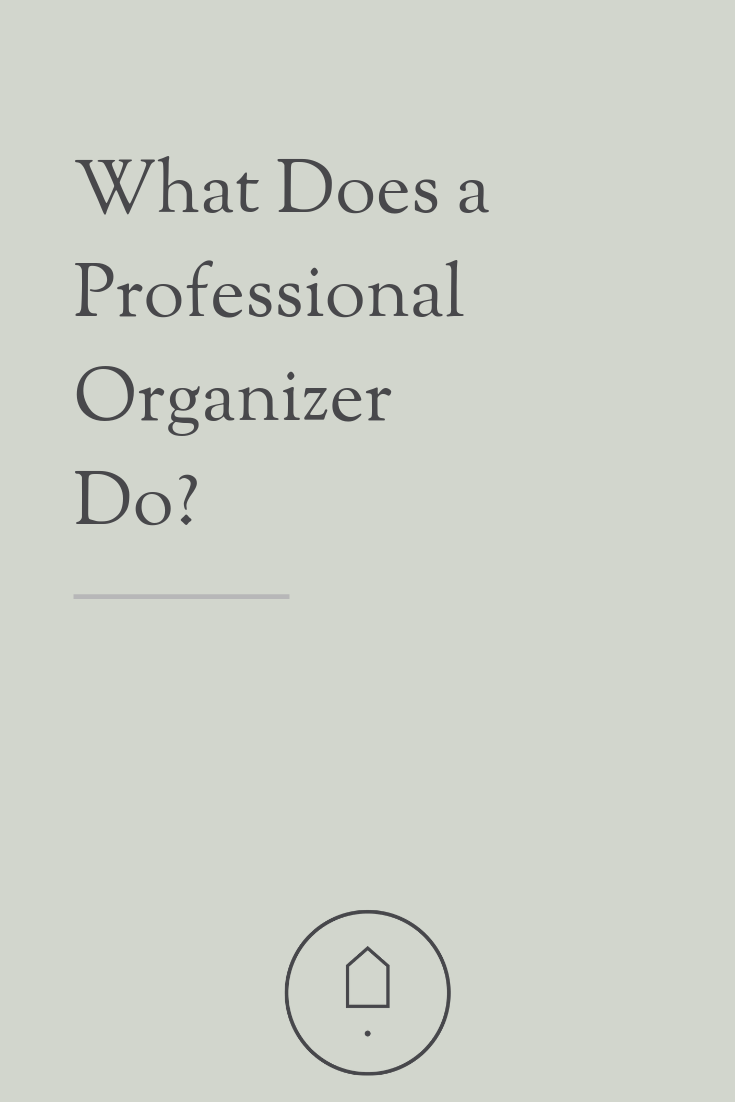 Want to get organized? A professional organizer can help you! Read more to find out!