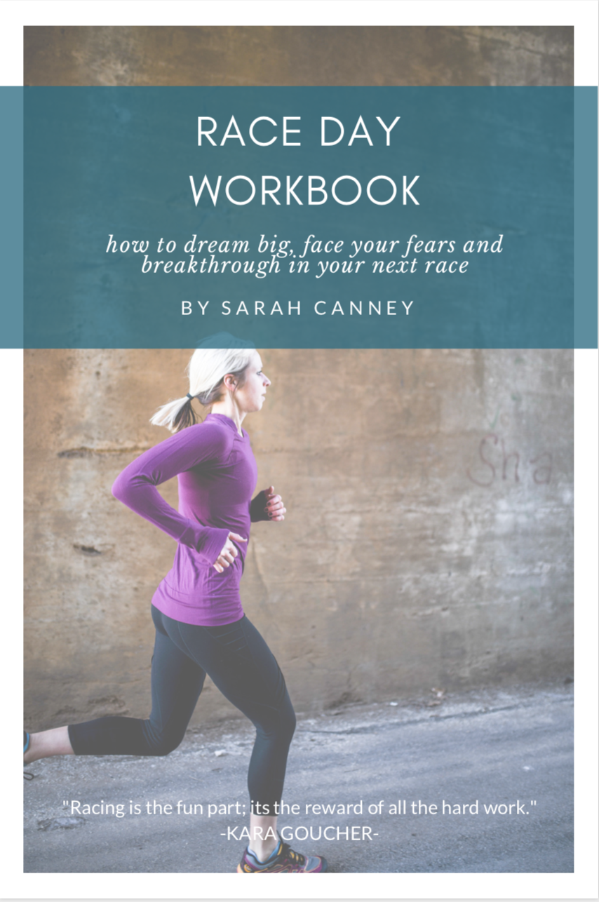 Race Day Workbook