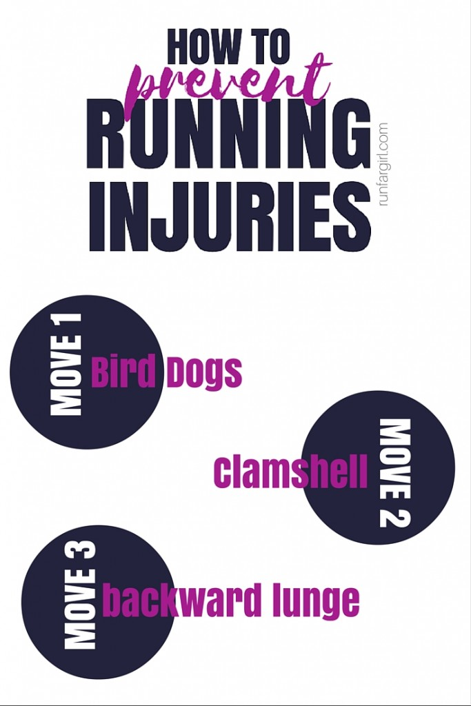 Prevent Running Injuries with these three moves. RunFarGirl.com