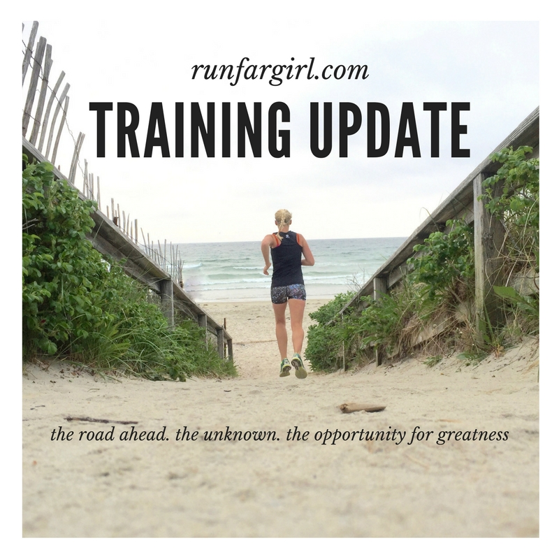 Training Update Run Far Girl