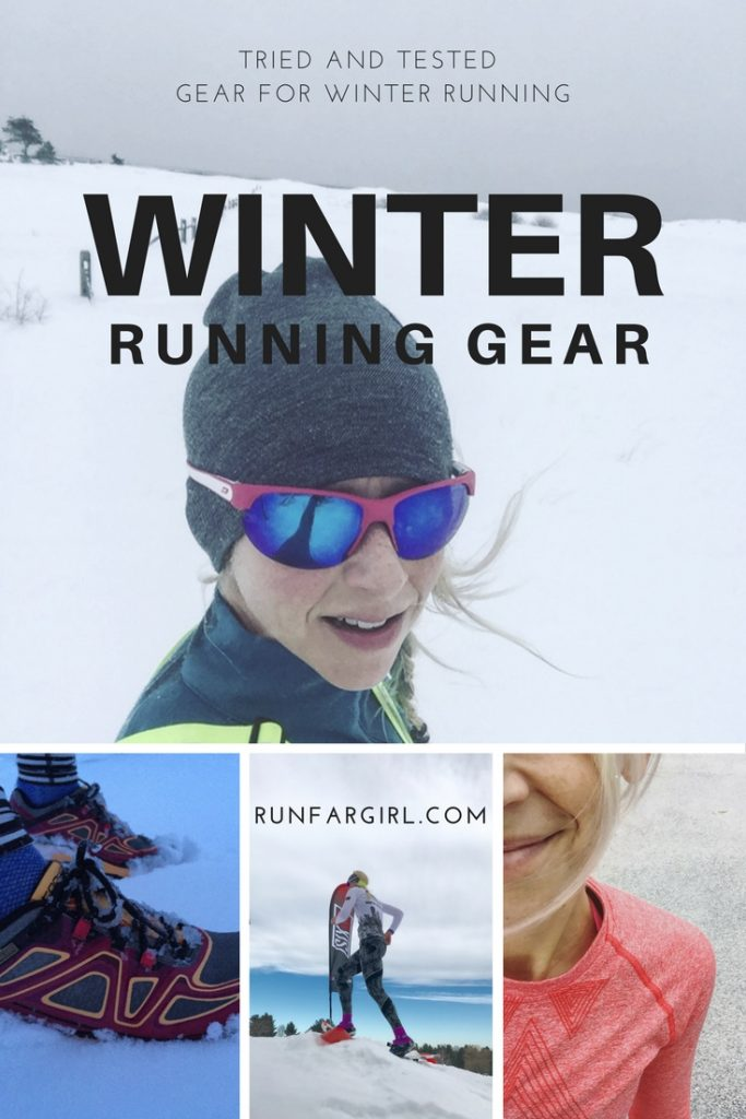 Tried and tested Gear for winter running