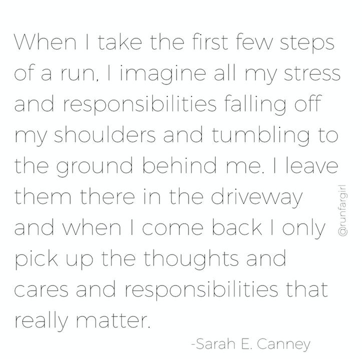 Running brings clarity-runfargirl