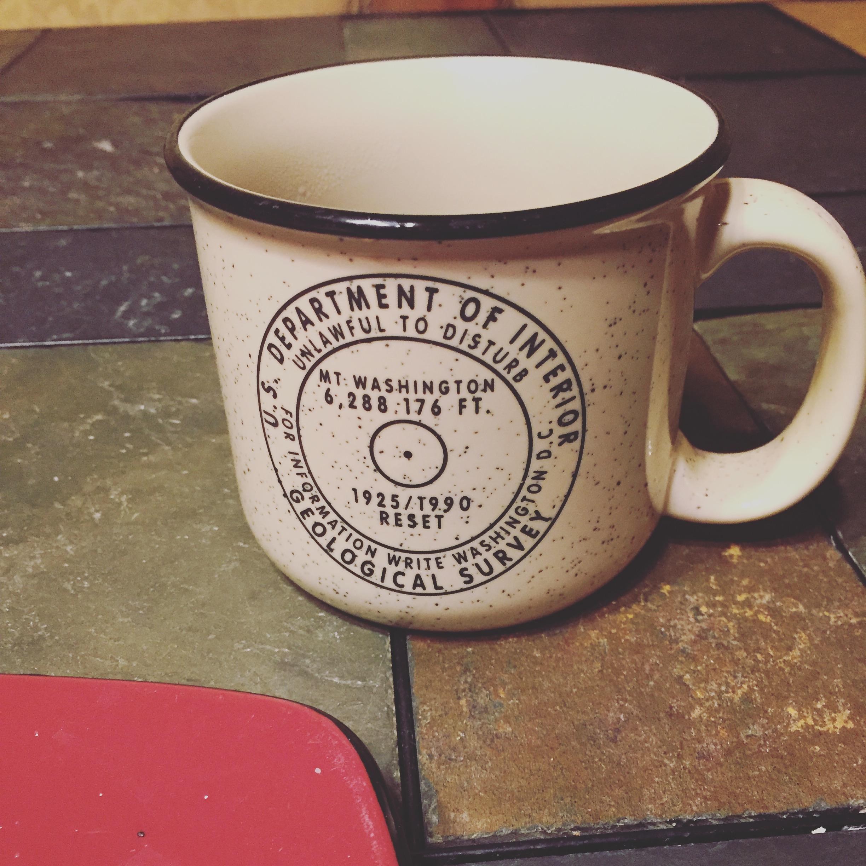Lucky mug randomly at the rental house.