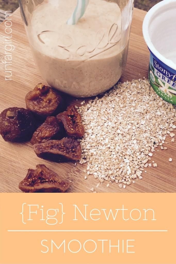 Fig Newton Smoothie