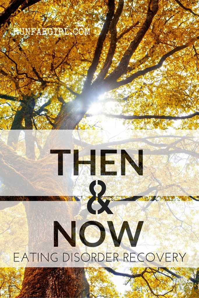 Then and Now: what changed and brought a nine year battle with bulimia to an end-RunFarGirl.com