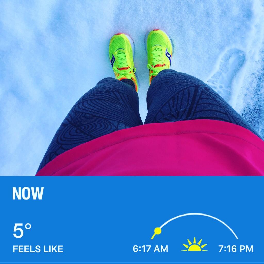 Winter Runs RunFarGIrl.com