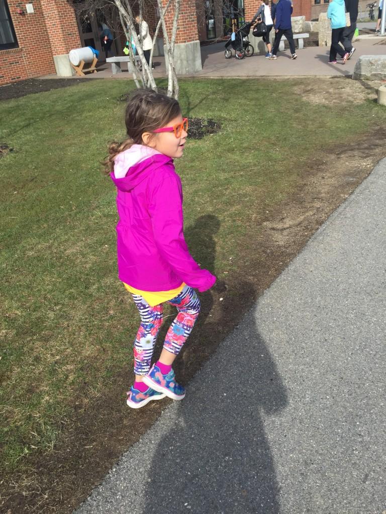 Pretty sure she's got the best run-style ever.
