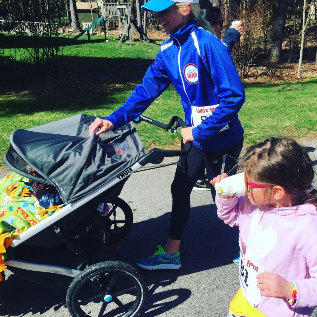 Todd's Trot family run.