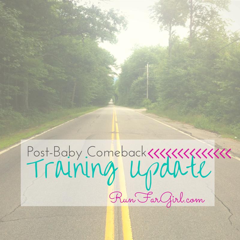 postbaby comeback postpartum training running