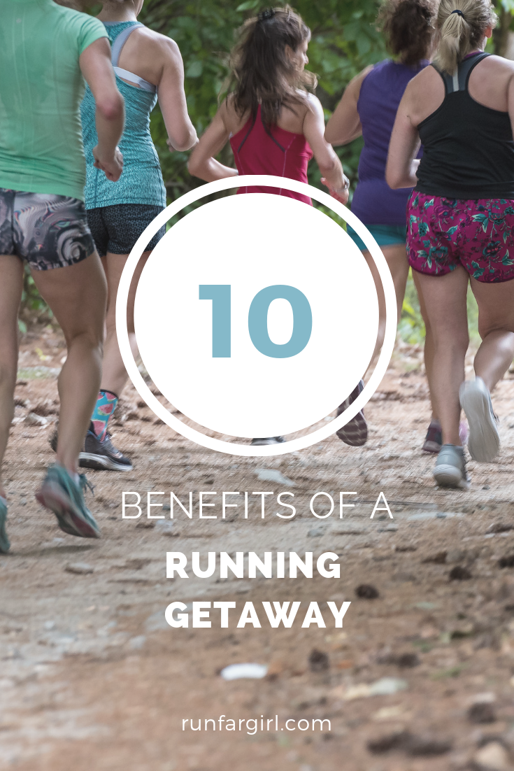 Running Getaway- 10 reasons why a run-in getaway is right for you