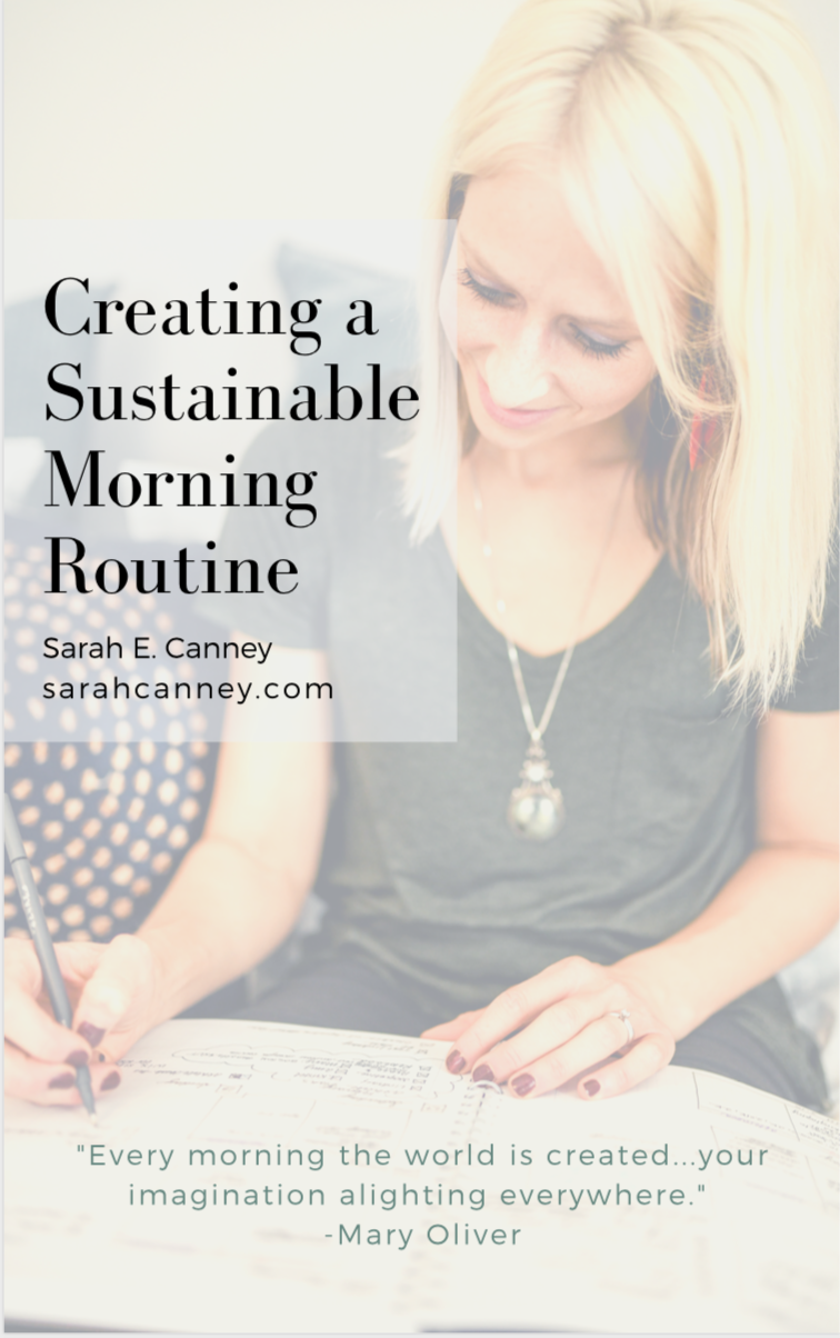 Win the Day - Create a sustainable morning routine and start your day with intention.