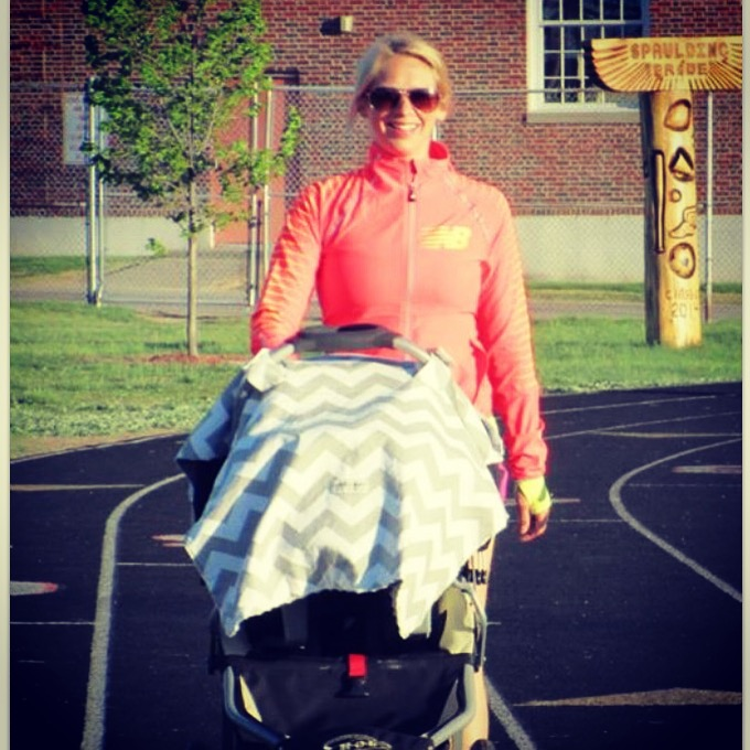 Walking is a great low-impact activity for return to running postpartum.