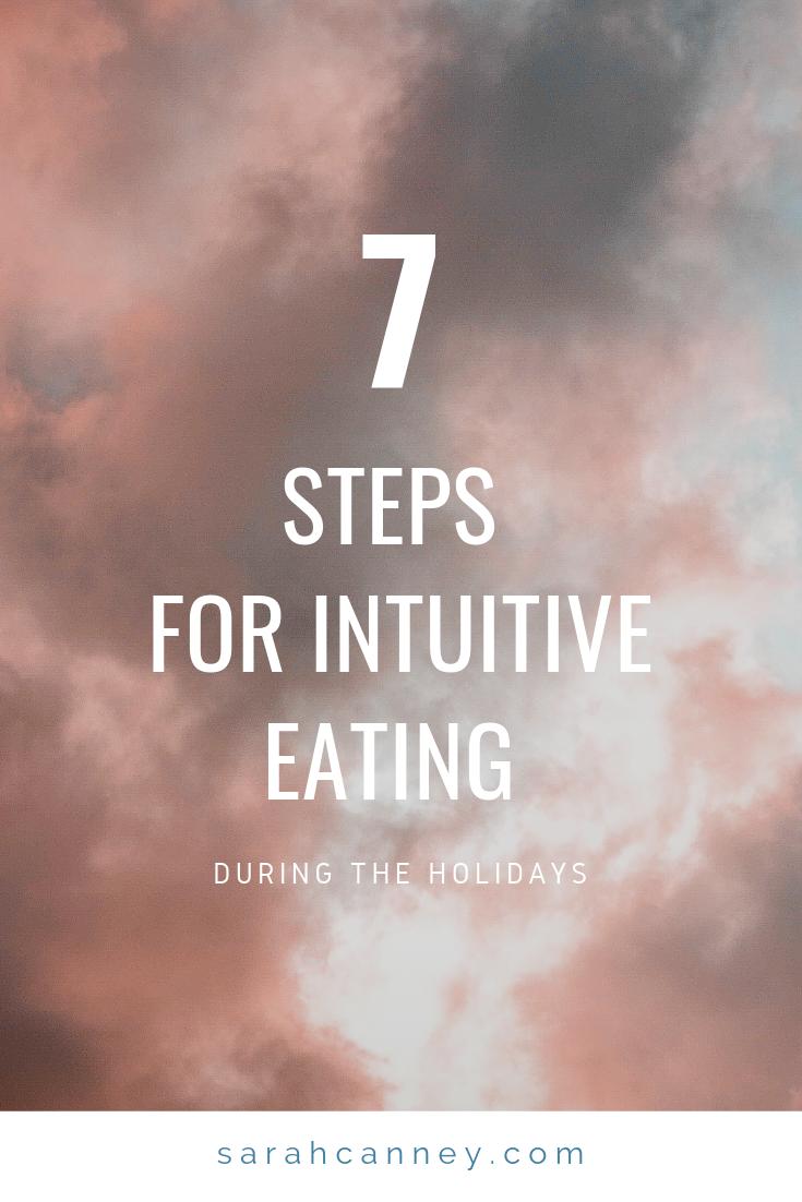 intuitive eating holidays runfargirl