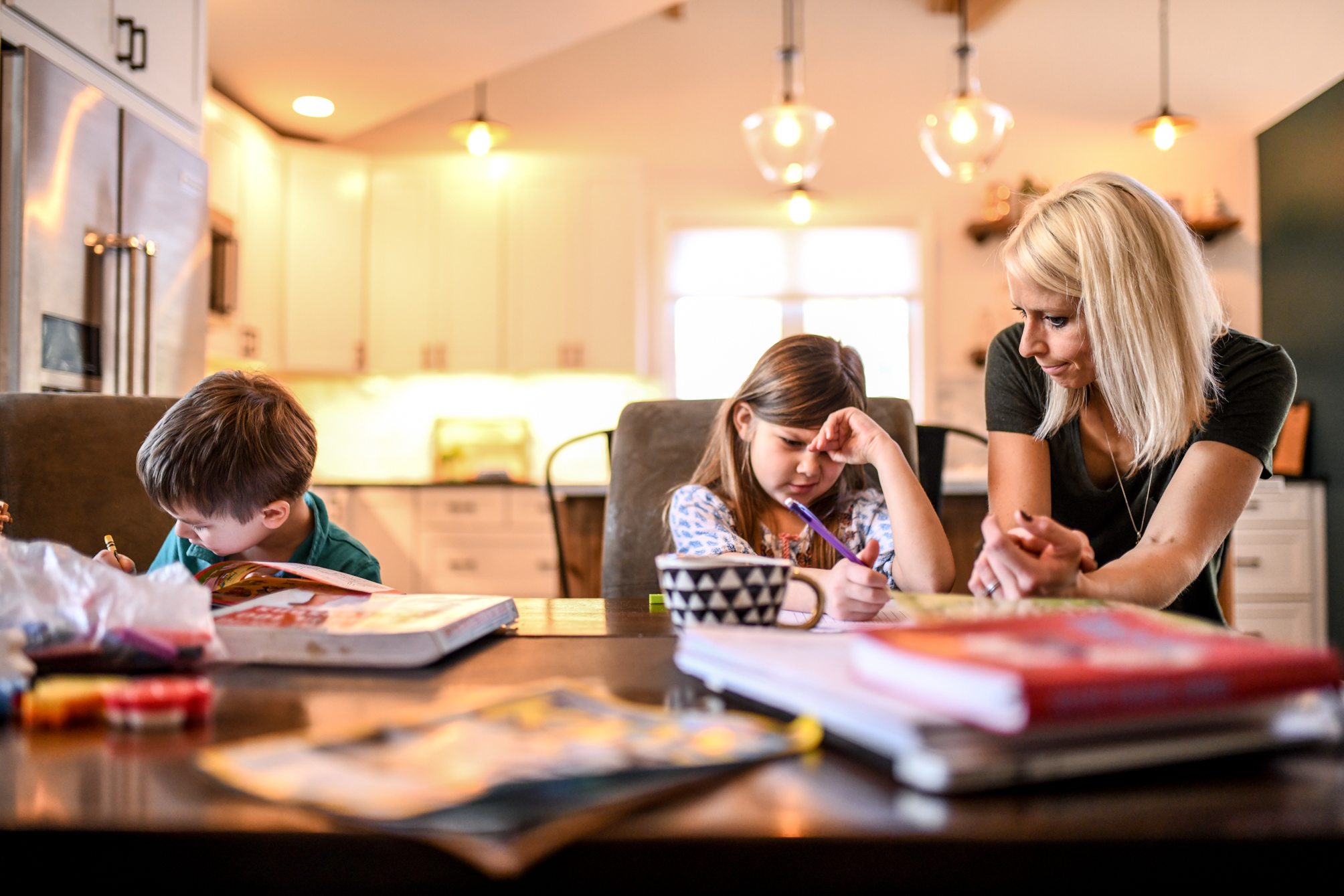 "Homeschooling is demanding and requires an ""all-in"" kind of focus—balance and multitasking don't work here. Photo Credit: Raya on Assignment"