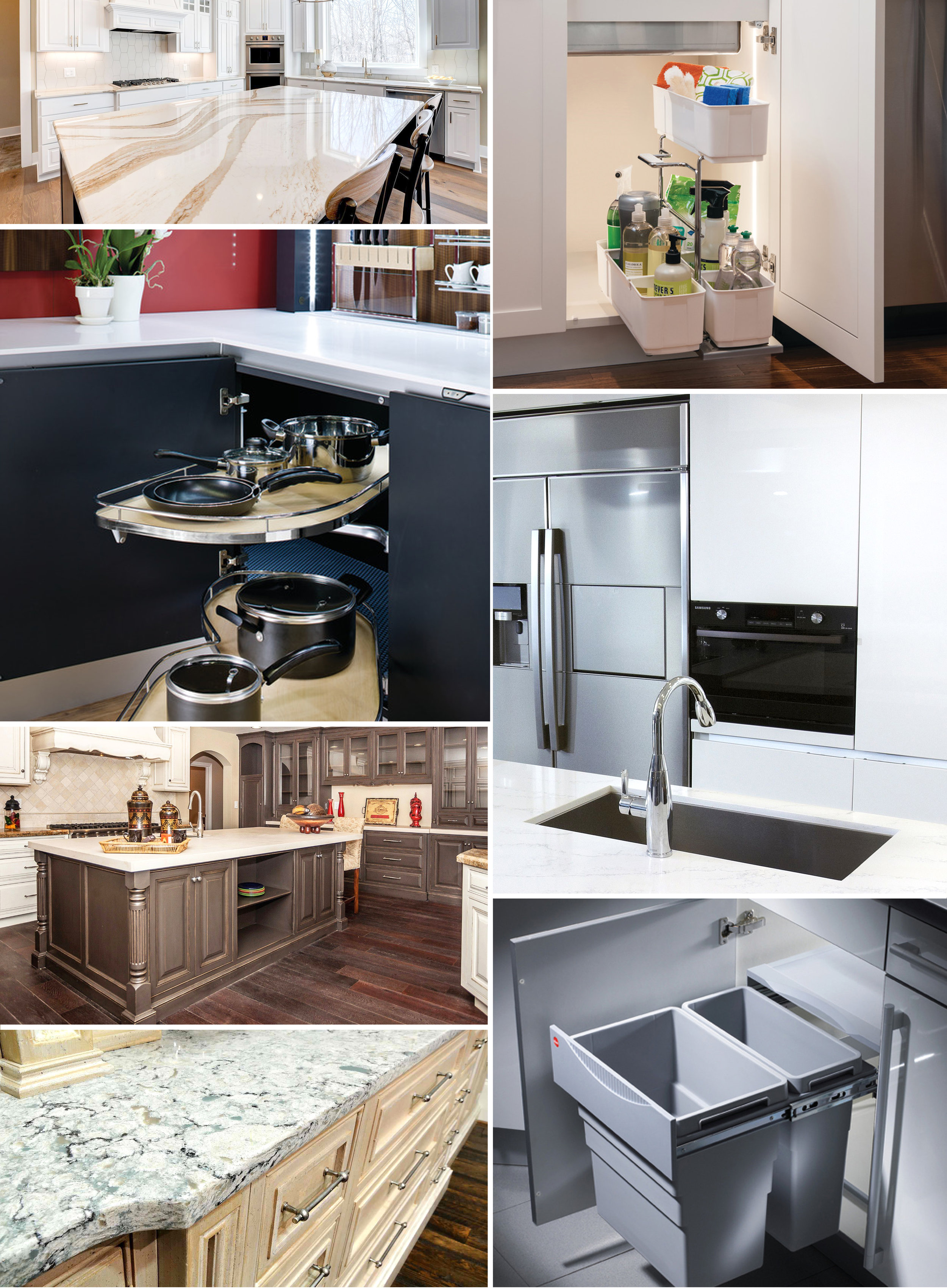 *Countertops available for installation with cabinet install only.