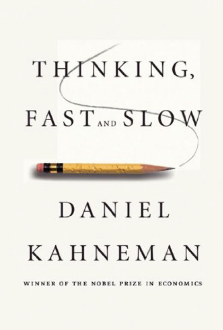 Here's the cover to Kahneman's book.