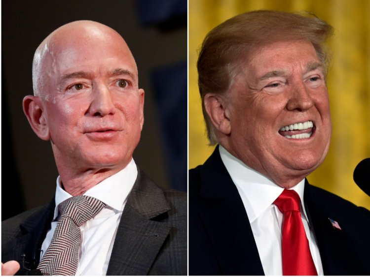 Messrs. Bezos and Trump.