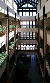The interior of one of the firm's HQ buildings.