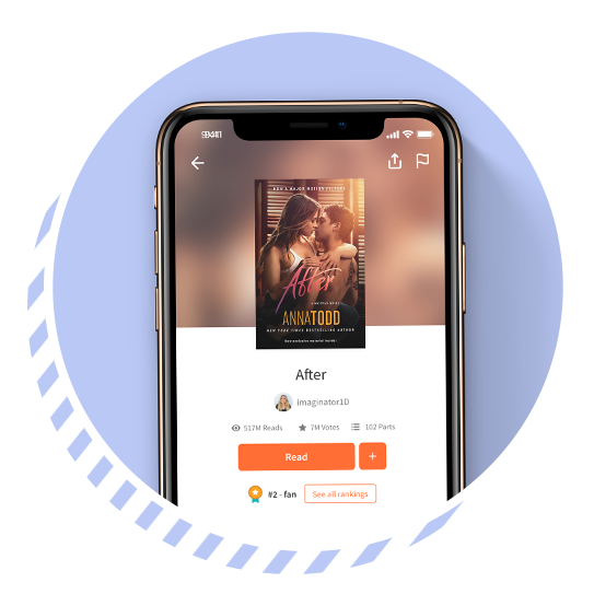 """[Wattpad] was a place I couldn't have even dreamed existed with people just like me, an entire world of people who read and write on the internet. I found a community, a home really,"" says Anna. -"
