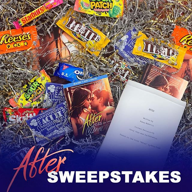 Candies. Popcorn. And #HESSA!!! Now, who is ready to win the ultimate movie night experience? http://uni.pictures/After_Sweeps . . . . . . . . .  NO PURCHASE NECESSARY.  Sweepstakes runs 07/19/2019 – 07/26/19. Open only to legal residents of the 50 U.S. & D.C., 18+. Subject to Official Rules at http://uni.pictures/After_Sweeps. See Official Rules for complete details. Void where prohibited.