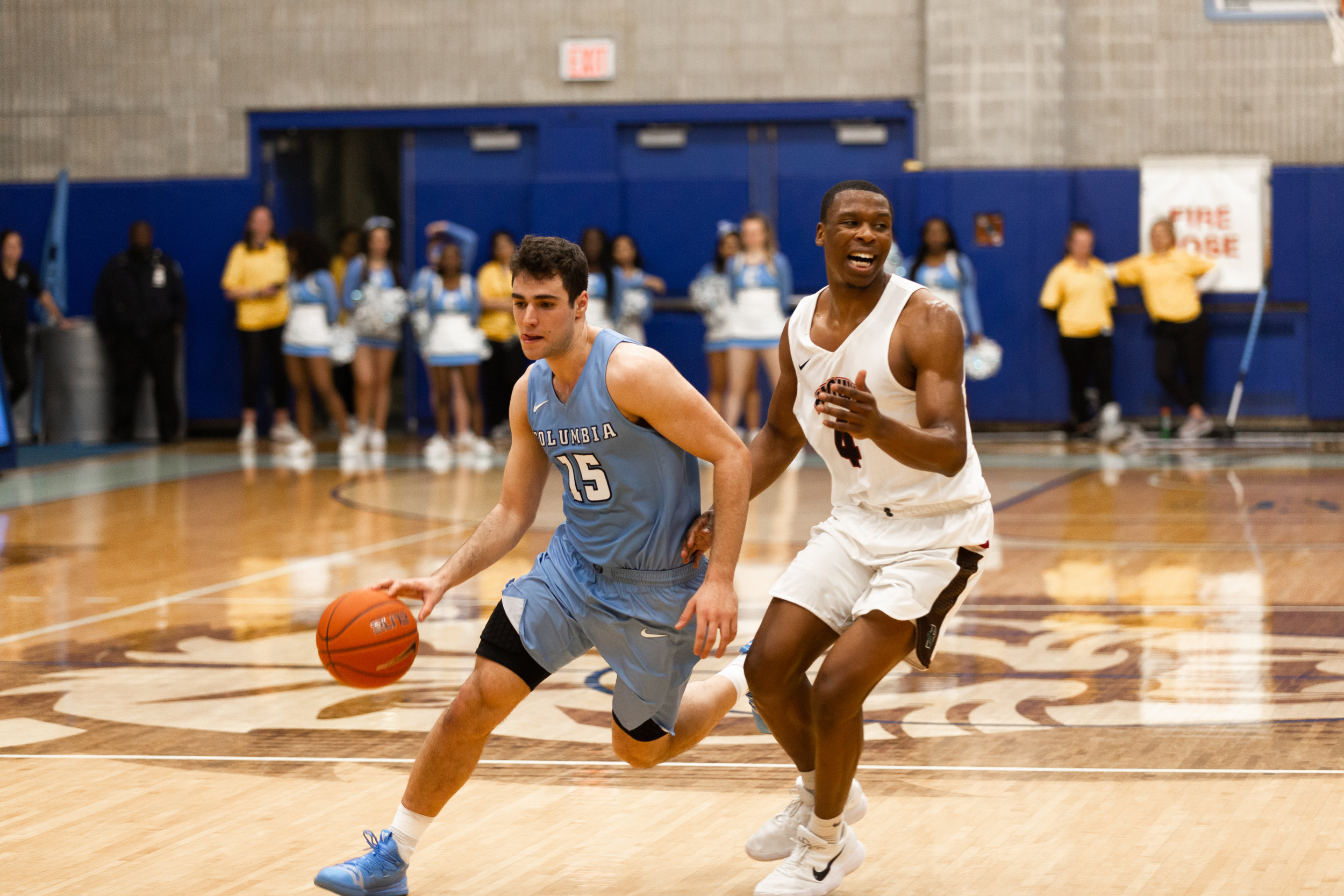 Gabe Stefanini acts as the focal point in the new-look Lions offense, driving some of the team's most effective plays such as the corner pick-and-roll. (Photo: Ben Goldsmith)